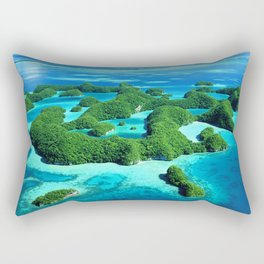 Palau Island Paradise Rectangular Pillow