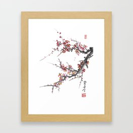Cherry Blossom One Framed Art Print