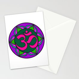 Om Flower | Kids Painting | Mandhala Stationery Cards