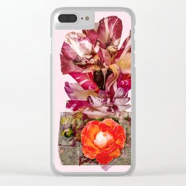 THE ROSE IN A BOX Clear iPhone Case
