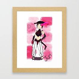 Juri Framed Art Print