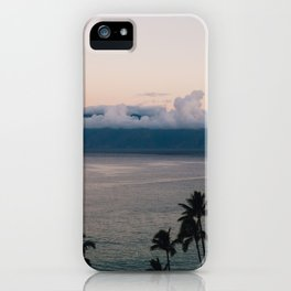 Sunrise in Lahaina - Maui, Hawaii - Kaanapali Beach iPhone Case
