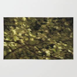 Night Leaves Rug