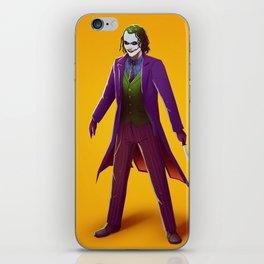 Joker iPhone Skin