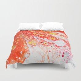 Orange Candy Coating Duvet Cover