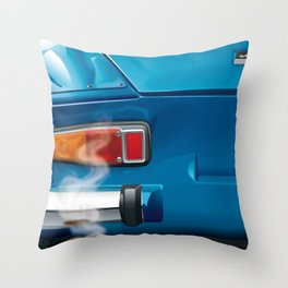 Renault Alpine A110 from 1962 Throw Pillow