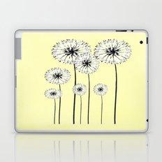 Dandelions Spring Print  Laptop & iPad Skin
