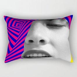 Optical Portrait Rectangular Pillow