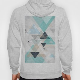 Up and down - triangles Hoody