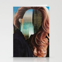 sin city Stationery Cards featuring Sin City by Imogen Art