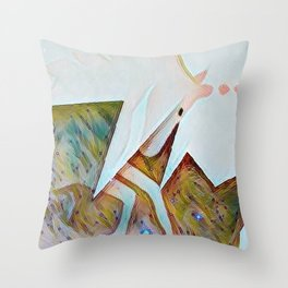 Harsehead Nebula Throw Pillow
