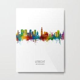 Utrecht The Netherlands Skyline Metal Print