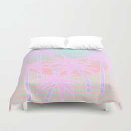 Hello Miami Sunrise Duvet Cover