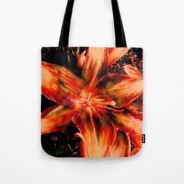 Garden Lily Tote Bag