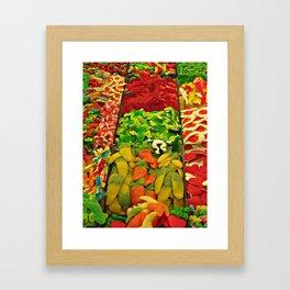 Boqueria Barcelona Framed Art Print