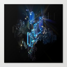 Space Chimes Canvas Print