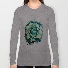 Inky Rose Long Sleeve T-shirt