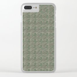 #Antique Look #Christmas #Botanical Clear iPhone Case