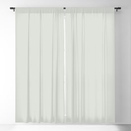 Ultra Pale Gray - Off White Solid Color Pairs To Valspar America Luna 5005-3A Blackout Curtain