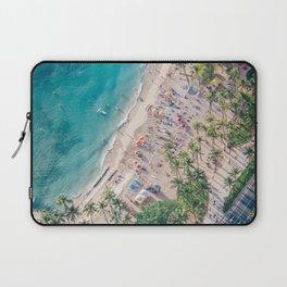 Waikiki Beach Laptop Sleeve
