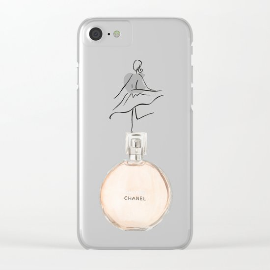 Chance Clear iPhone Case