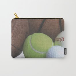 Sports Love Variety of Balls Carry-All Pouch