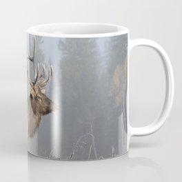 Bull Elk One Coffee Mug