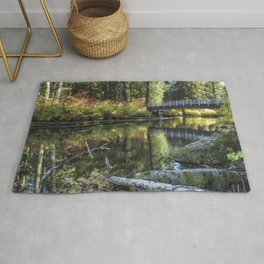 Fall at Clear Lake, No. 2 Rug