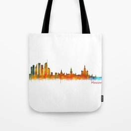Moscow City Skyline art HQ v2 Tote Bag