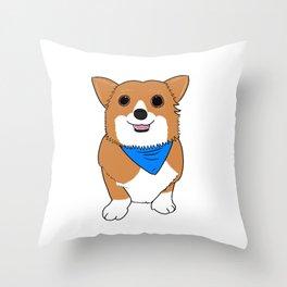 Corg Throw Pillow