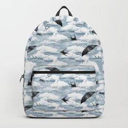 April Shower (Blue Grisaille) Backpack