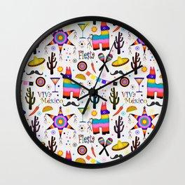 Fiesta Mexicana Wall Clock