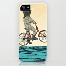 AQUA CYCLE iPhone Case