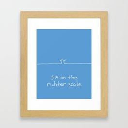 aftershocks Framed Art Print