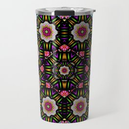 decorative ornate candy with soft candle light for peace Travel Mug