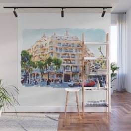 La Pedrera Barcelona Wall Mural