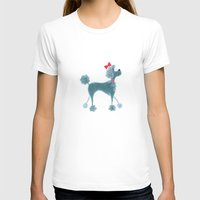 poodle T-shirts featuring Poodle by Cathy Brear