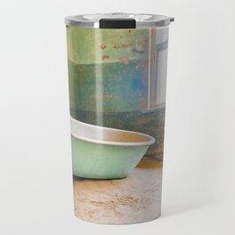Antique Bathtub in Desert Americana Decor Travel Mug
