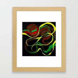 Rasta Colors, Jamaican Inspired Art Framed Art Print