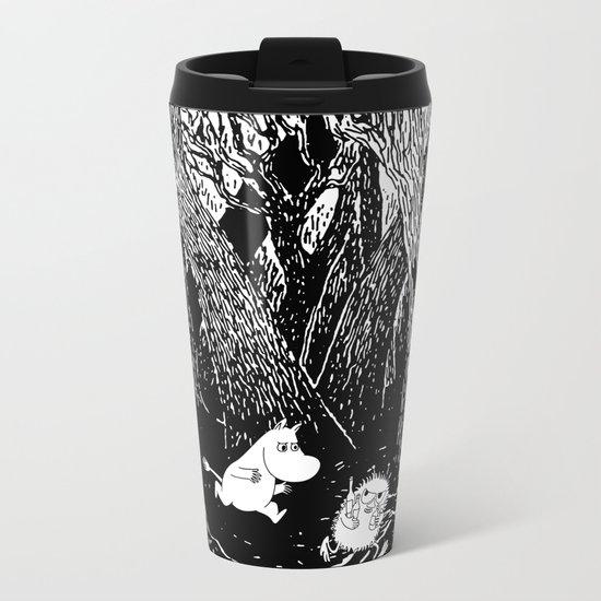 Moomins run for Stinky Metal Travel Mug