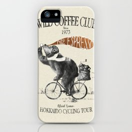 WCC1973-kuma iPhone Case