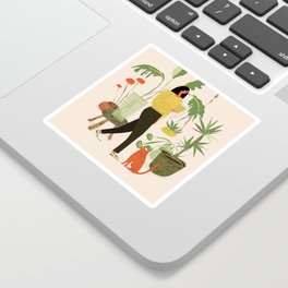 Migrating a Plant Sticker