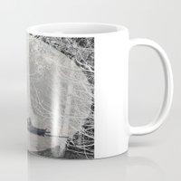 moonrise Mugs featuring MOONRISE by Mari