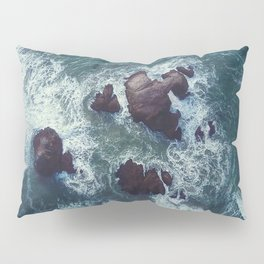 Raging Sea Pillow Sham