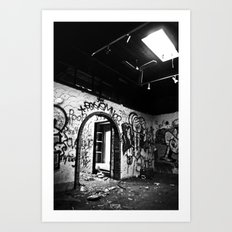 Expressions in Black and White Art Print