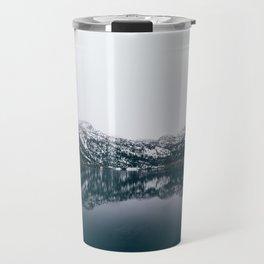 Alpine Lake Refletions Travel Mug
