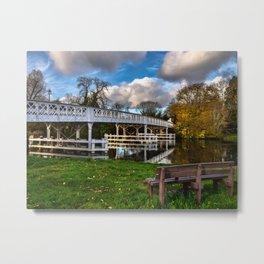 Whitchurch Toll Bridge Metal Print
