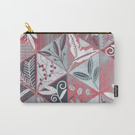 Specimens of wild grasses <dry red> Carry-All Pouch