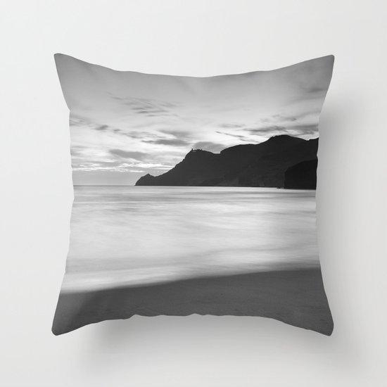 Silver sea. BN Throw Pillow