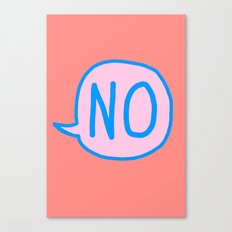 Answer is No Canvas Print